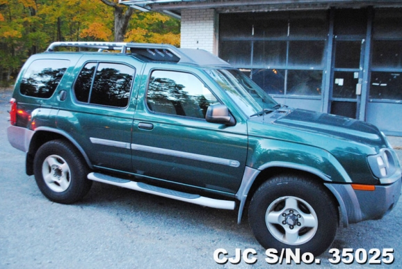 2002 left hand nissan xterra green for sale stock no. Black Bedroom Furniture Sets. Home Design Ideas