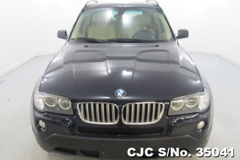 2008 Left Hand Bmw X3 Blue Metallic For Sale Stock No 35041 Left Hand Used Cars Exporter
