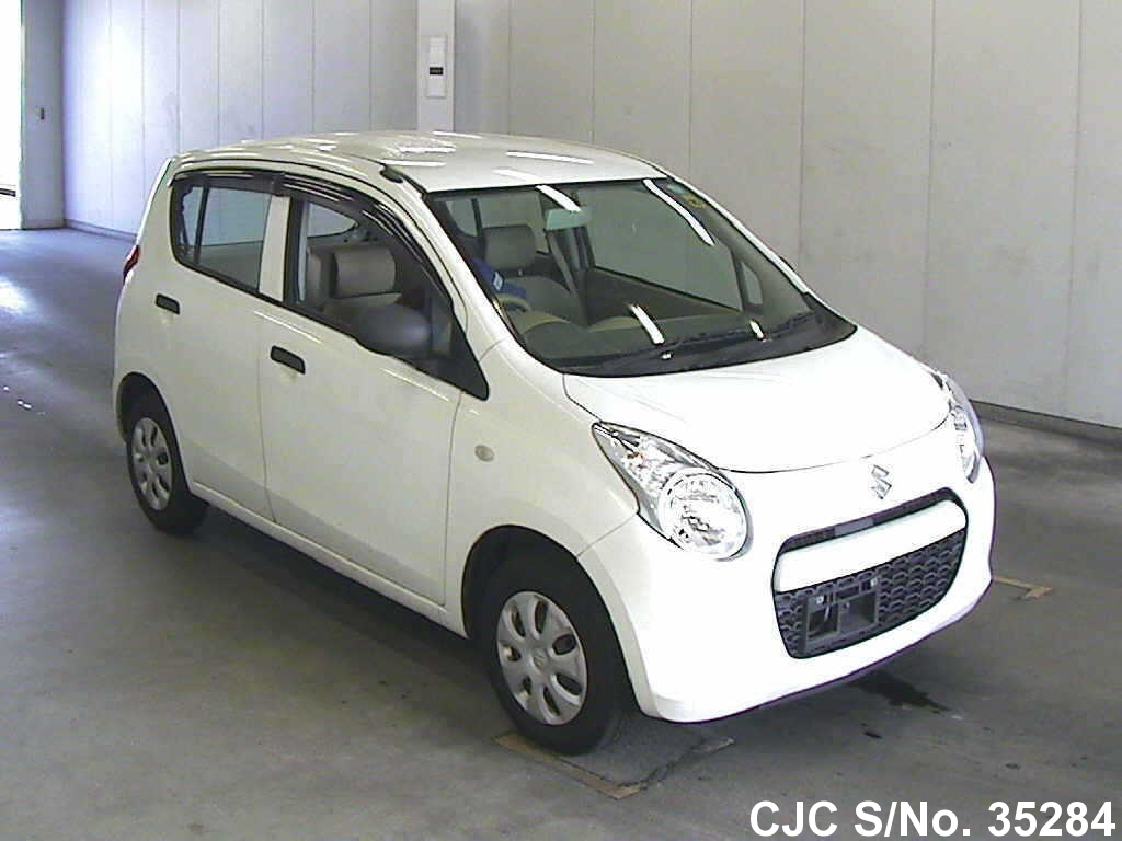 2010 suzuki alto white for sale stock no 35284 japanese used cars exporter. Black Bedroom Furniture Sets. Home Design Ideas