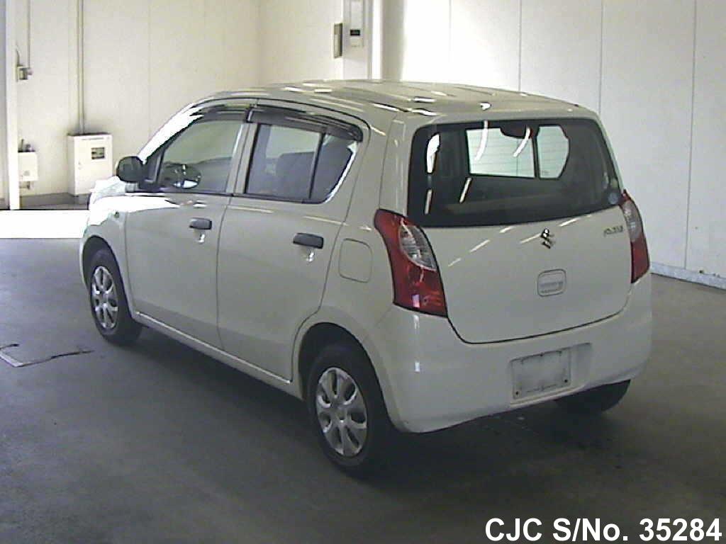 2010 suzuki alto white for sale stock no 35284 japanese used cars exporter. Black Bedroom Furniture Sets. Home Design Ideas