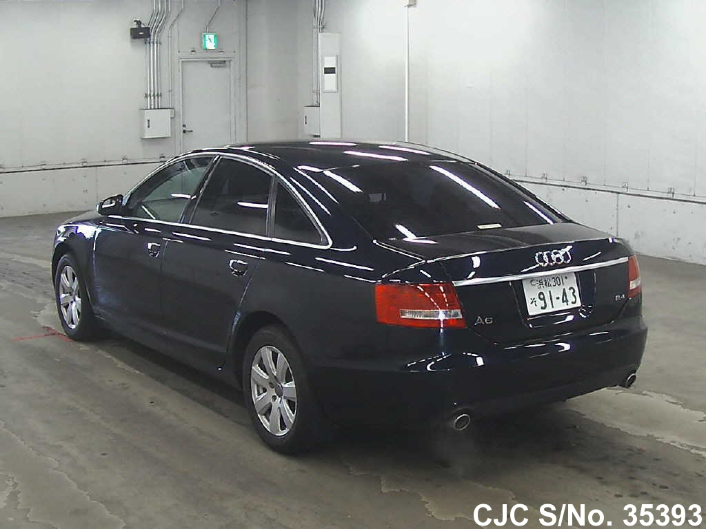 2004 audi a6 navy blue for sale stock no 35393 japanese used cars exporter. Black Bedroom Furniture Sets. Home Design Ideas
