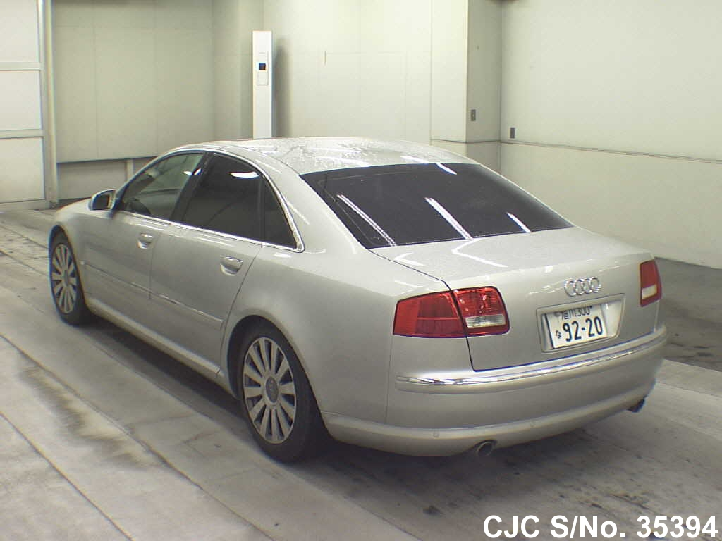2006 audi a8 silver for sale stock no 35394 japanese used cars exporter. Black Bedroom Furniture Sets. Home Design Ideas