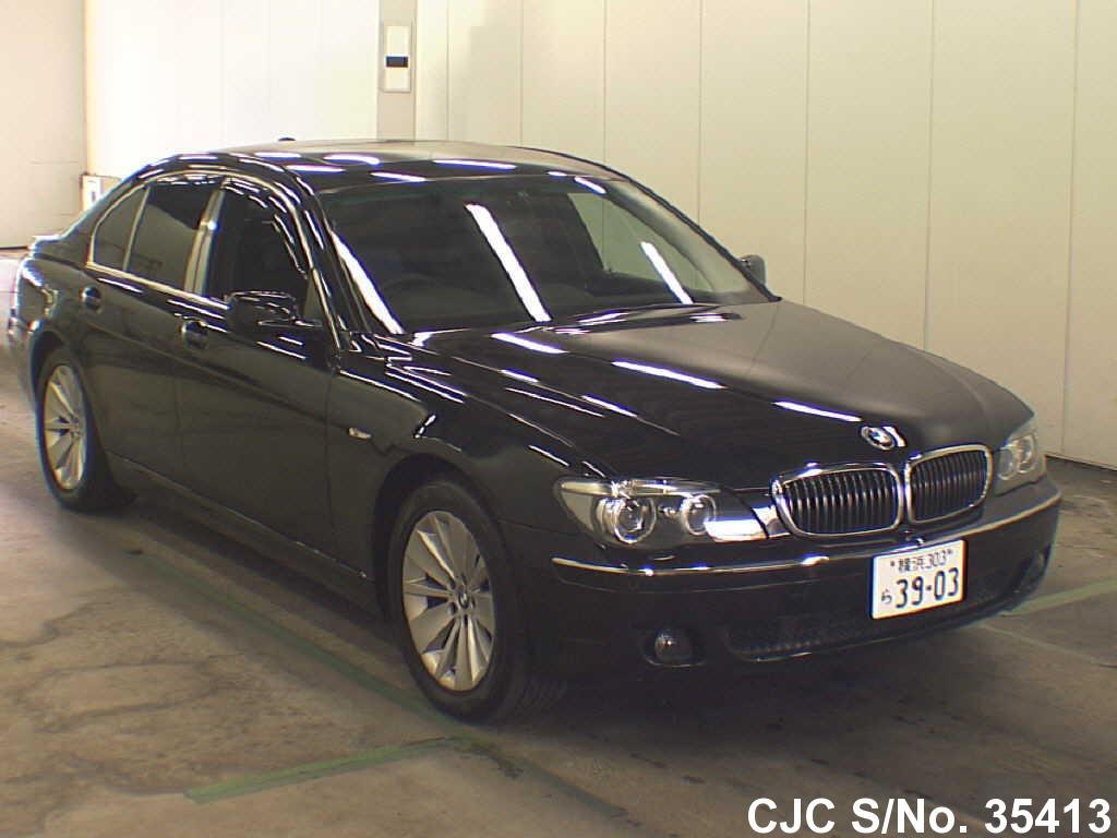 2009 bmw 7 series black for sale stock no 35413 japanese used cars exporter. Black Bedroom Furniture Sets. Home Design Ideas