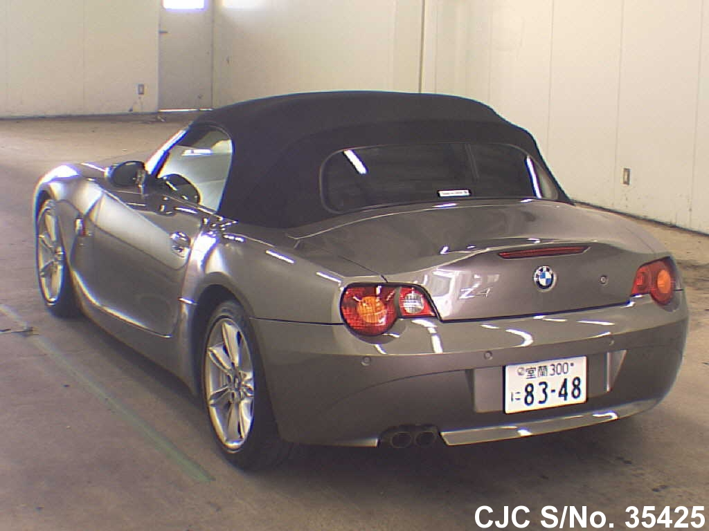 2003 Bmw Z4 Gray For Sale Stock No 35425 Japanese