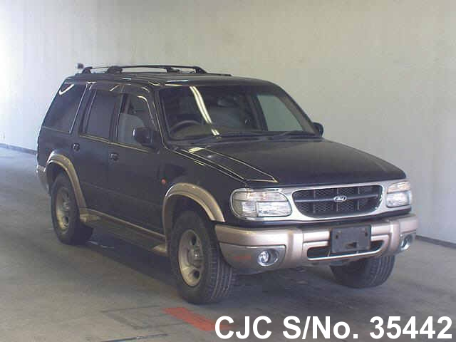 2000 ford explorer blue 2 tone for sale stock no 35442 japanese used cars exporter. Black Bedroom Furniture Sets. Home Design Ideas