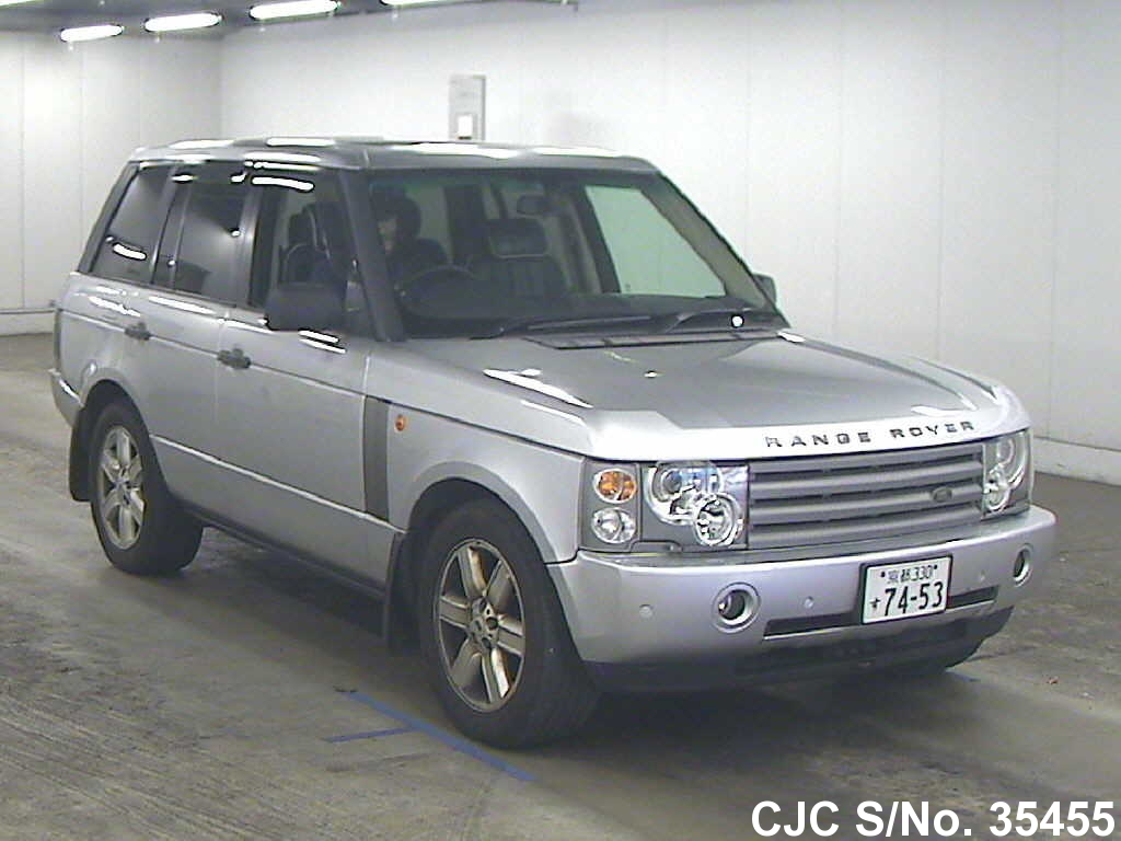 2004 land rover range rover silver for sale stock no 35455 japanese used cars exporter. Black Bedroom Furniture Sets. Home Design Ideas