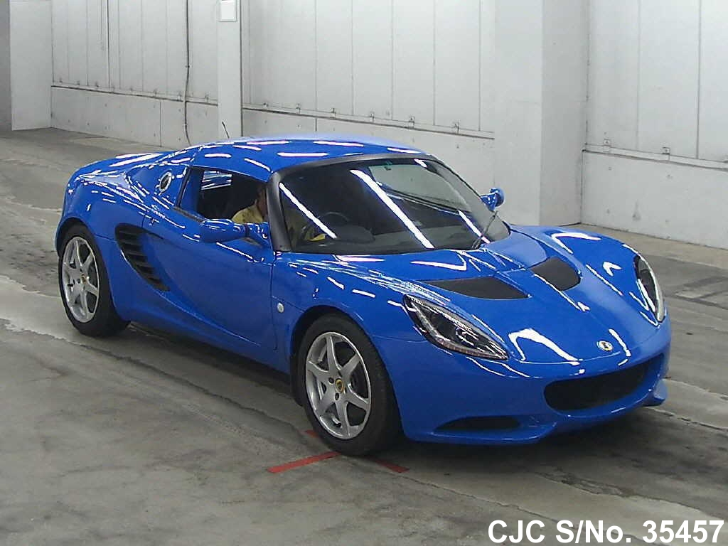 2003 lotus elise blue for sale stock no 35457 japanese used cars exporter. Black Bedroom Furniture Sets. Home Design Ideas