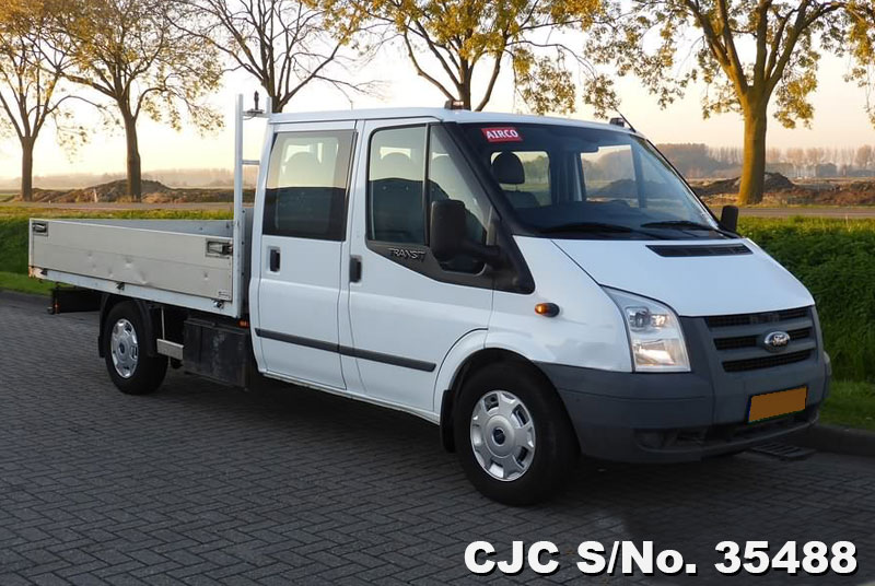 2009 left hand ford transit 350 l white for sale stock no 35488 left hand used cars exporter. Black Bedroom Furniture Sets. Home Design Ideas