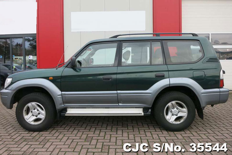2000 left hand toyota land cruiser green 2 tone for sale stock no 35544 left hand used cars. Black Bedroom Furniture Sets. Home Design Ideas