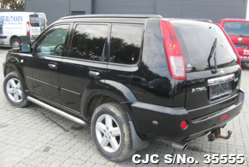 2008 Left Hand Nissan X Trail Black For Sale Stock No