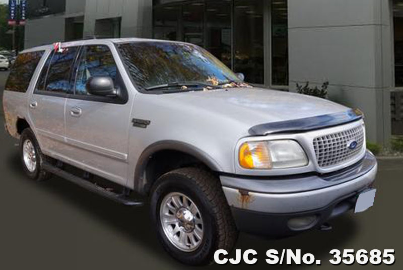 2001 left hand ford expedition silver for sale stock no 35685 left hand used cars exporter. Black Bedroom Furniture Sets. Home Design Ideas
