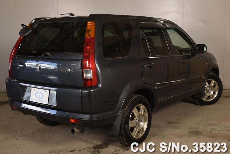 2004 honda crv gray for sale stock no 35823 japanese for Gray honda crv