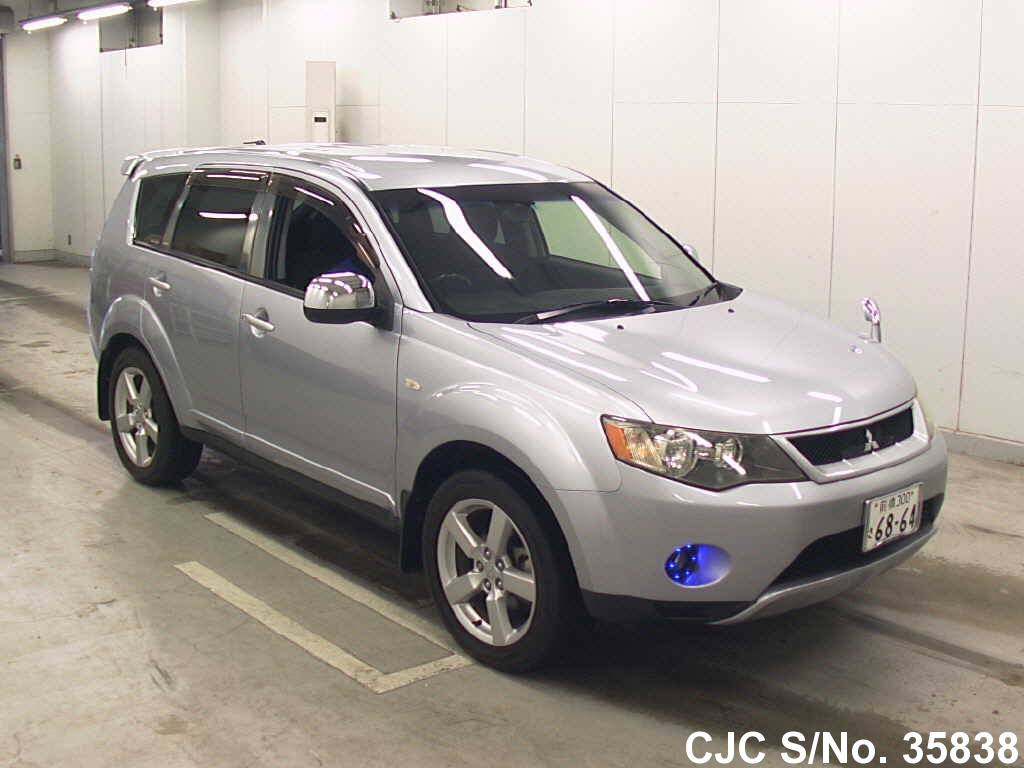 2006 mitsubishi outlander silver for sale stock no. Black Bedroom Furniture Sets. Home Design Ideas