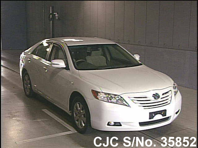 2006 toyota camry pearl for sale stock no 35852 japanese used cars exporter. Black Bedroom Furniture Sets. Home Design Ideas