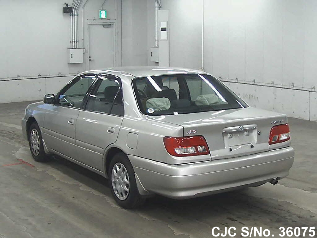 2000 toyota carina silver for sale stock no 36075 japanese used cars exporter. Black Bedroom Furniture Sets. Home Design Ideas