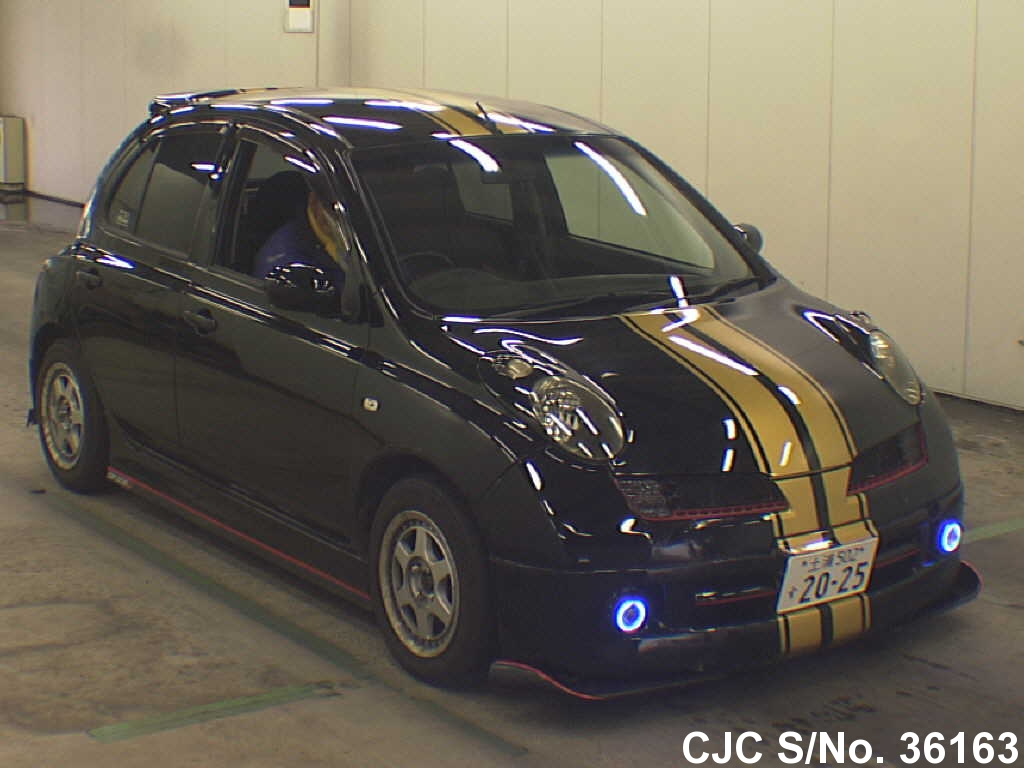 2004 Nissan March Black for sale | Stock No. 36163 | Japanese Used ...