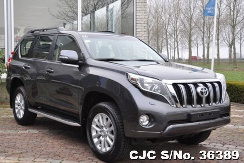 2015 Left Hand Toyota Land Cruiser Prado Grey Metallic For