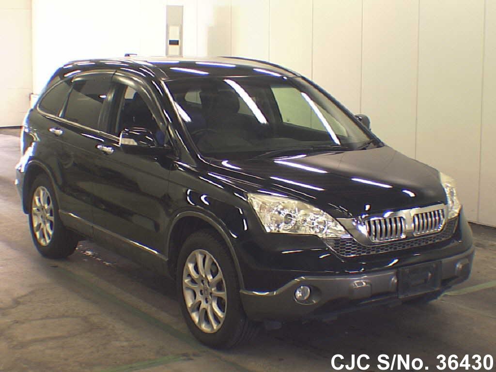 2007 honda crv black for sale stock no 36430 japanese used cars exporter. Black Bedroom Furniture Sets. Home Design Ideas