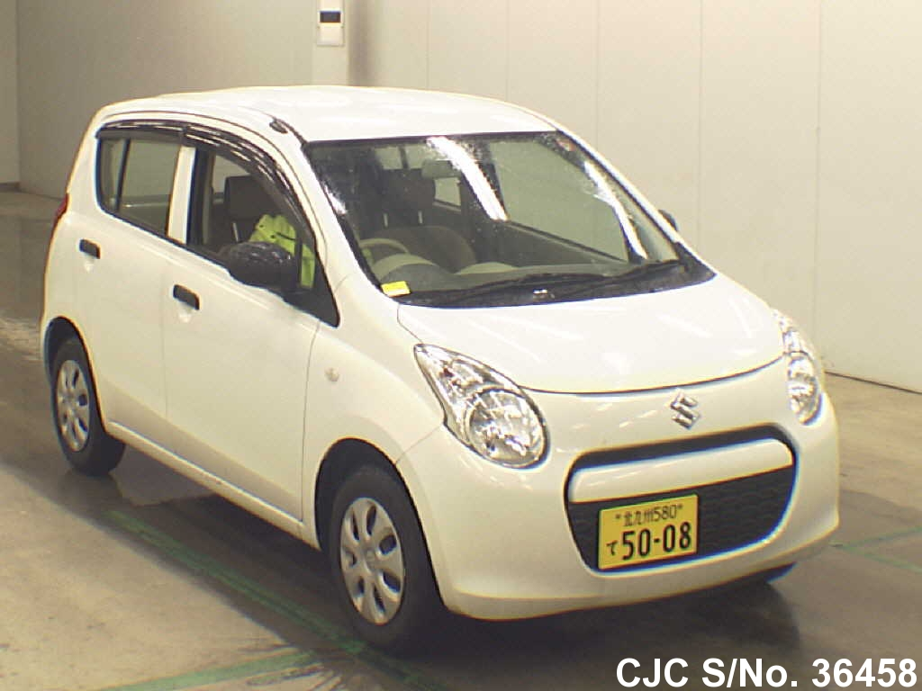 2010 suzuki alto white for sale stock no 36458 japanese used cars exporter. Black Bedroom Furniture Sets. Home Design Ideas
