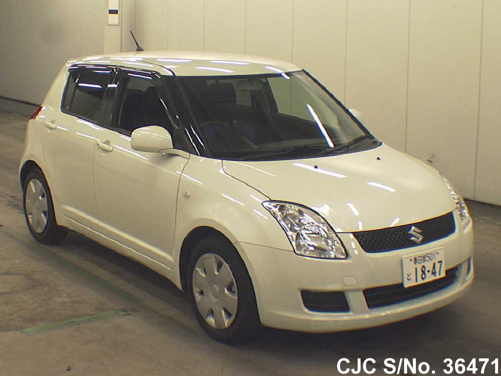 2009 suzuki swift pearl for sale stock no 36471 japanese used cars exporter. Black Bedroom Furniture Sets. Home Design Ideas