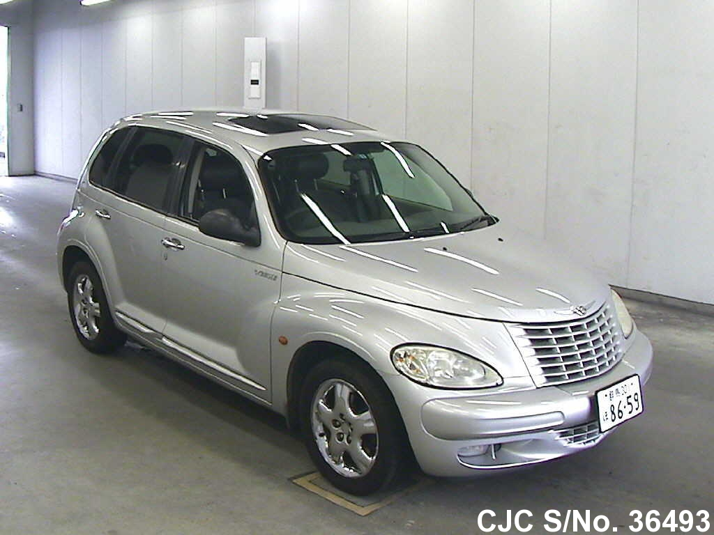 2002 chrysler pt cruiser silver for sale stock no 36493 japanese used cars exporter. Black Bedroom Furniture Sets. Home Design Ideas