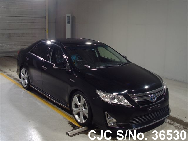 2013 toyota camry black for sale stock no 36530 japanese used cars exporter. Black Bedroom Furniture Sets. Home Design Ideas