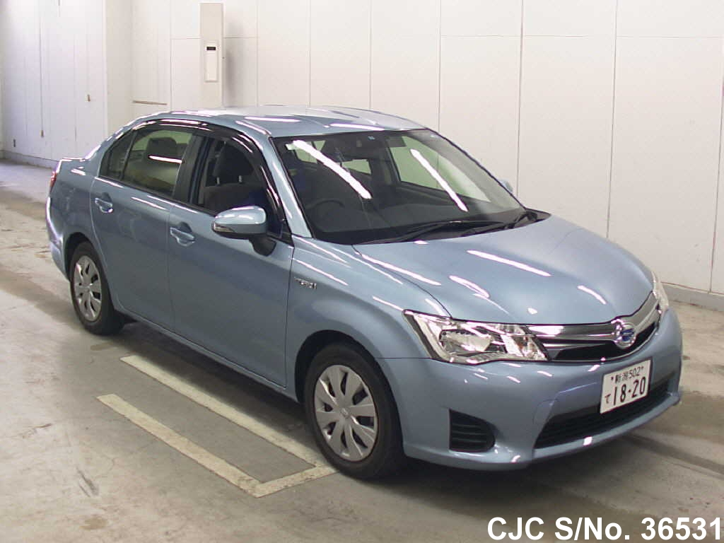 2014 toyota corolla axio blue for sale stock no 36531 japanese used cars exporter. Black Bedroom Furniture Sets. Home Design Ideas