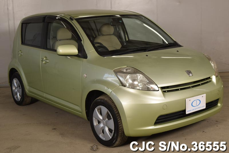 2004 toyota passo green for sale stock no 36555 japanese used rh carjunction com Red 2004 Toyota Passo 2004 Toyota Passo Interior