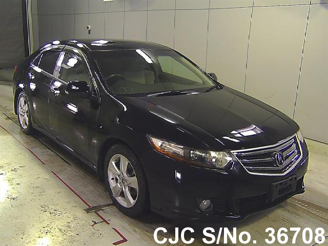 2008 honda accord black for sale stock no 36708 japanese used cars exporter. Black Bedroom Furniture Sets. Home Design Ideas