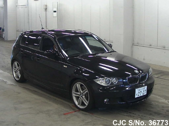 Japanese and black bmw