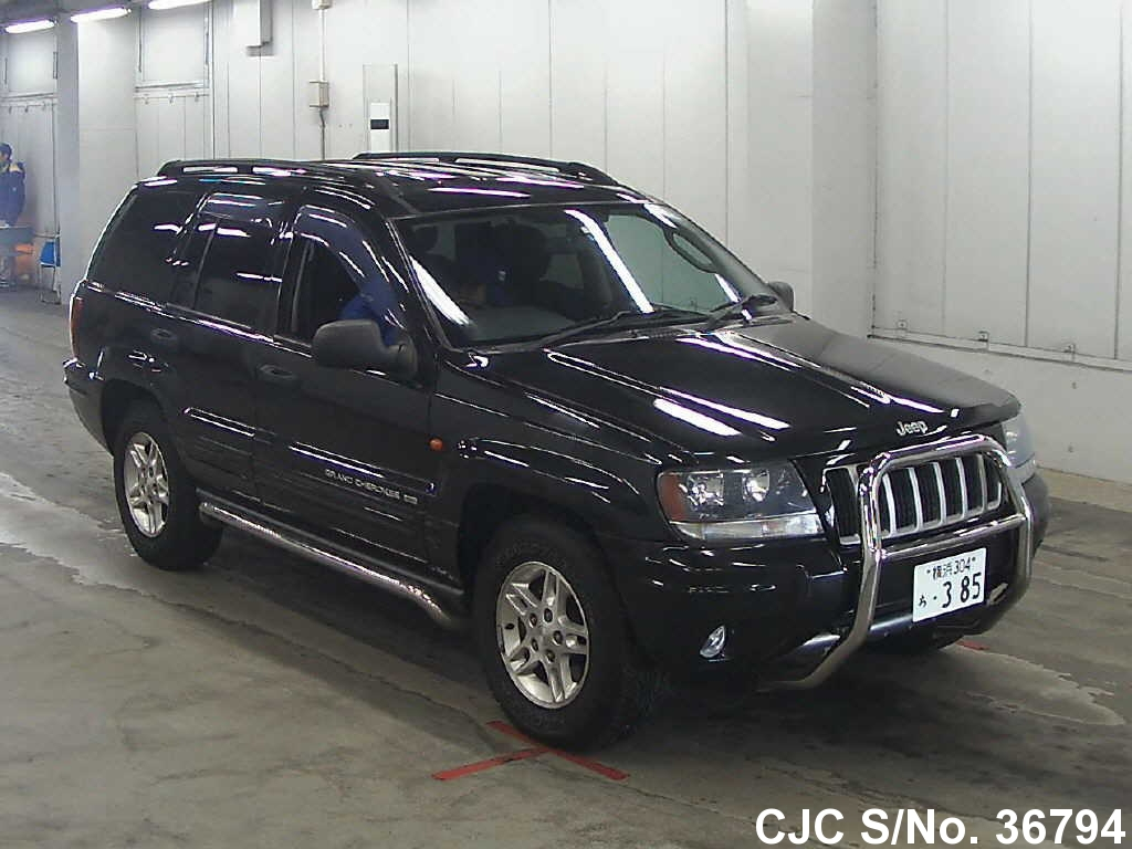 2005 jeep grand cherokee black for sale stock no 36794 japanese used cars exporter. Black Bedroom Furniture Sets. Home Design Ideas