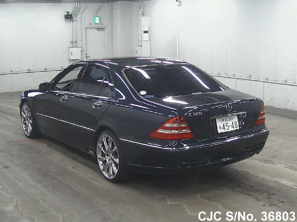 2000 mercedes benz s class black for sale stock no for Used mercedes benz s550 for sale