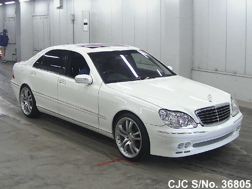 2004 mercedes benz s class white for sale stock no for White s550 mercedes benz for sale