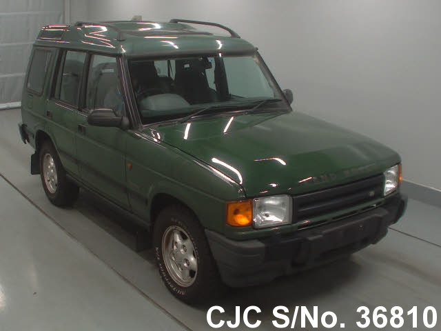 1998 land rover discovery green for sale stock no 36810 japanese used cars exporter. Black Bedroom Furniture Sets. Home Design Ideas