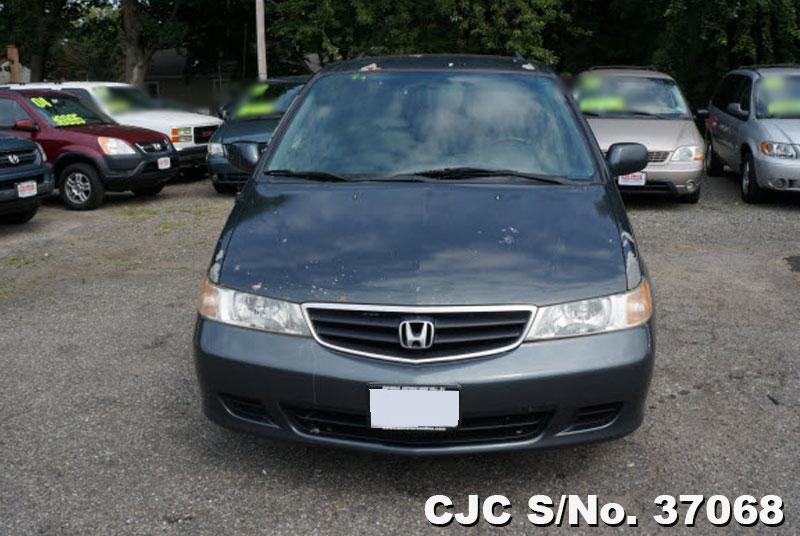 2004 Left Hand Honda Odyssey-Shuttle Gray for sale | Stock No. 37068 ...