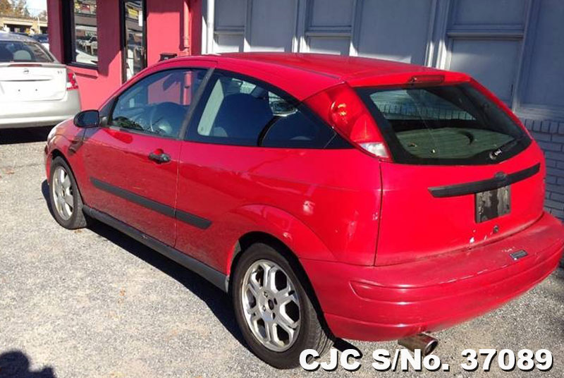 2002 left hand ford focus red for sale stock no 37089 left hand used cars exporter. Black Bedroom Furniture Sets. Home Design Ideas