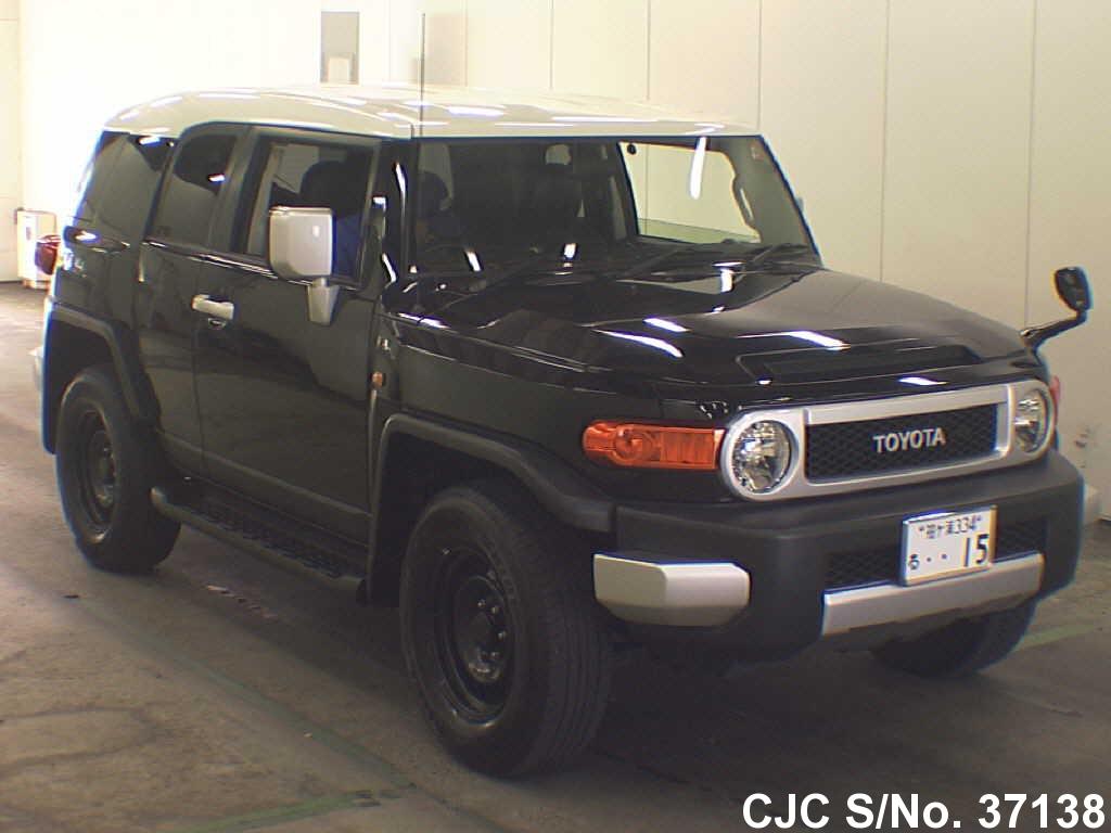 2012 toyota fj cruiser black for sale stock no 37138 japanese used cars exporter. Black Bedroom Furniture Sets. Home Design Ideas