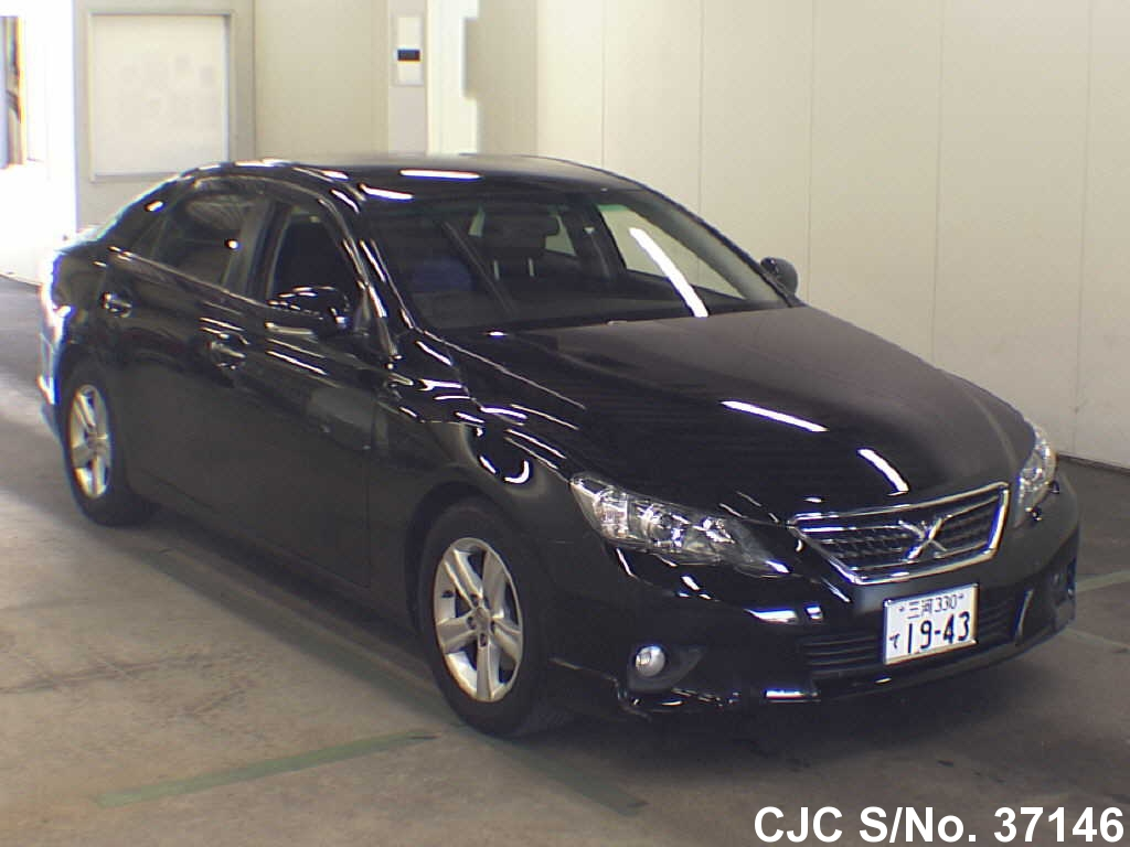 Rhd Vehicles For Sale >> 2011 Toyota Mark X Black for sale | Stock No. 37146