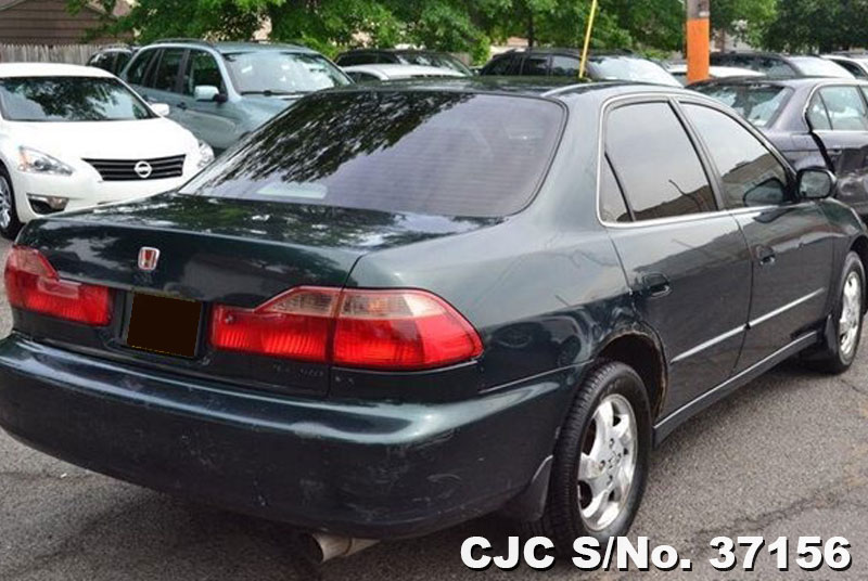 1998 left hand honda accord black for sale stock no 37156 left hand used cars exporter. Black Bedroom Furniture Sets. Home Design Ideas