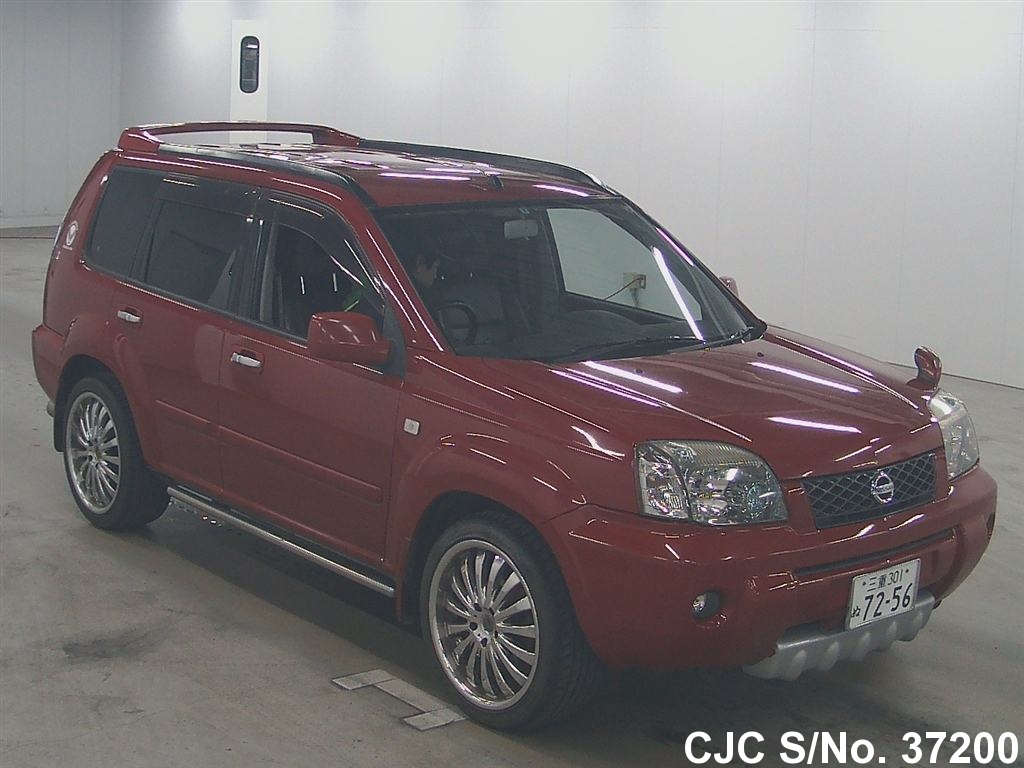 2005 nissan x trail red for sale stock no 37200. Black Bedroom Furniture Sets. Home Design Ideas