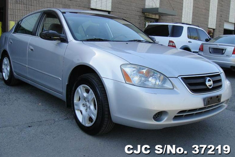 2002 Left Hand Nissan Altima Silver For Sale Stock No