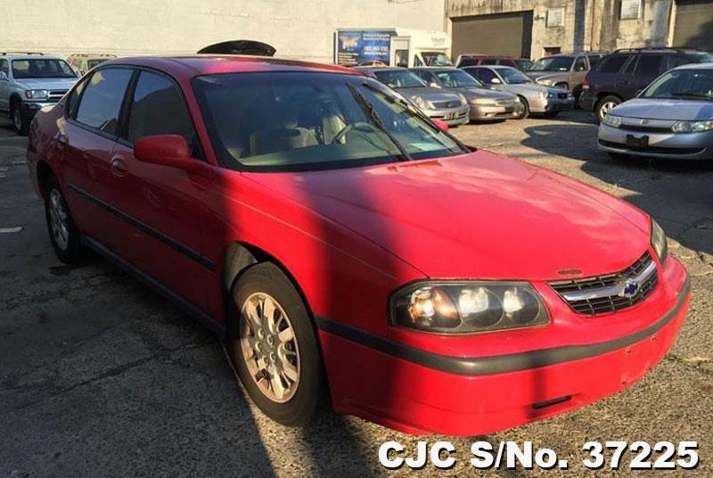 2002 left hand chevrolet impala red for sale stock no 37225 left hand used cars exporter. Black Bedroom Furniture Sets. Home Design Ideas