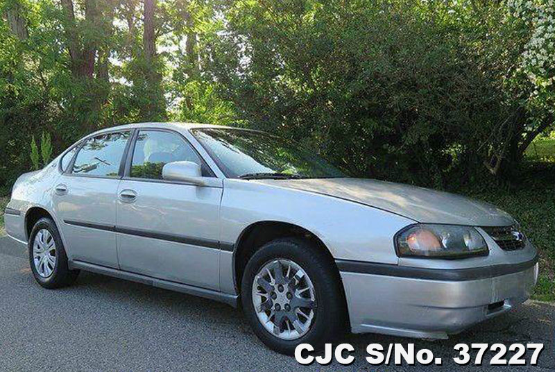 2004 left hand chevrolet impala silver for sale stock no 37227 left hand used cars exporter. Black Bedroom Furniture Sets. Home Design Ideas