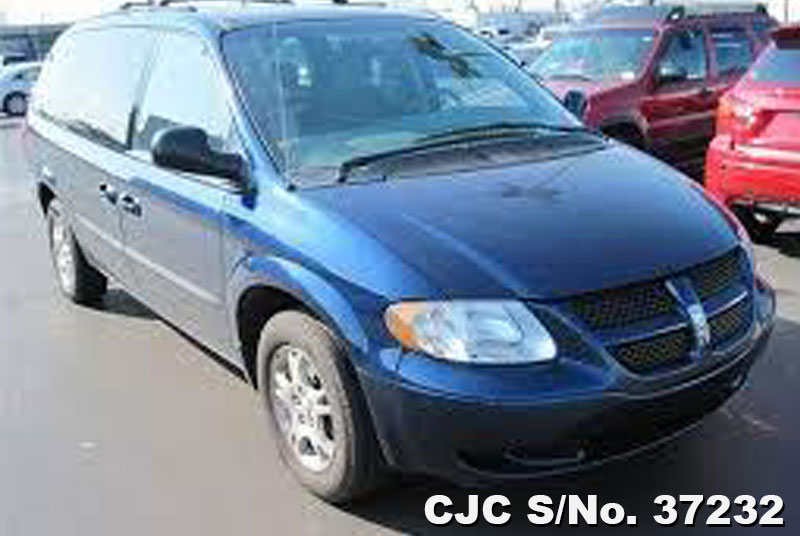 2003 left hand dodge caravan blue for sale stock no. Black Bedroom Furniture Sets. Home Design Ideas