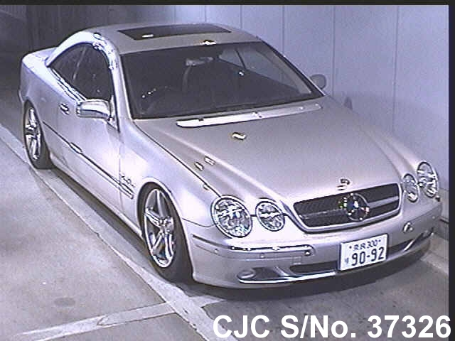 2002 Mercedes Benz Cl Class Silver For Sale Stock No