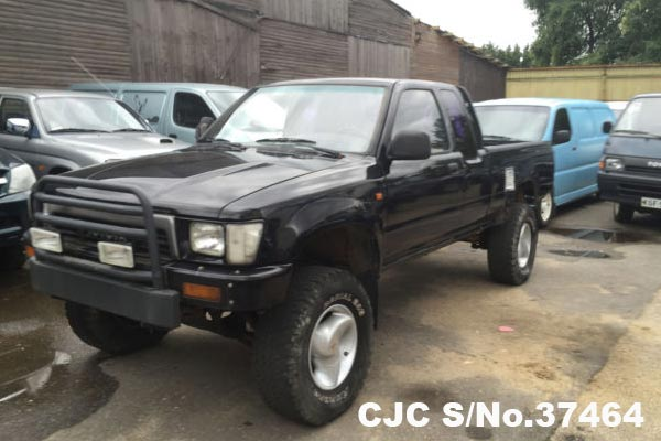1990 Left Hand Toyota Hilux Black for sale | Stock No  37464