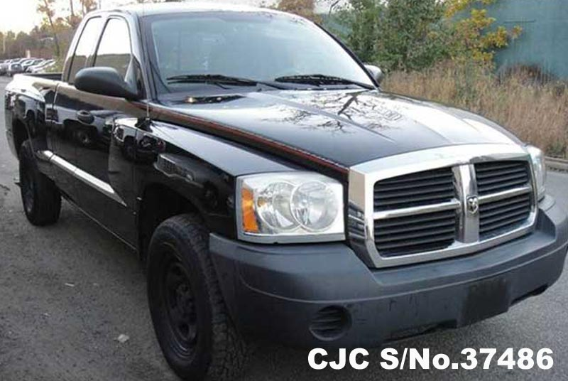 2006 left hand dodge dakota black for sale stock no. Black Bedroom Furniture Sets. Home Design Ideas