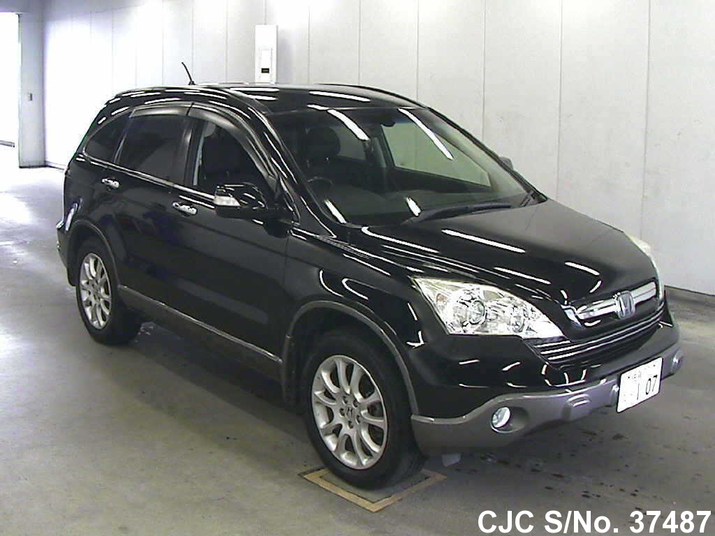 2007 honda crv black for sale stock no 37487 japanese used cars exporter. Black Bedroom Furniture Sets. Home Design Ideas