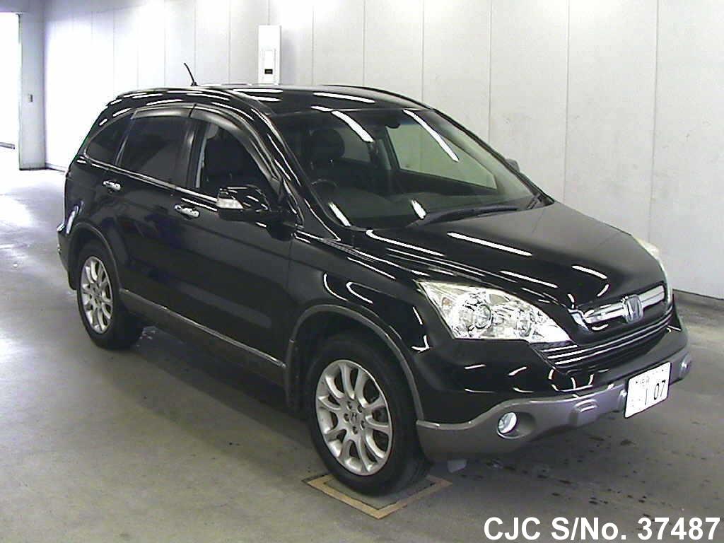 2007 honda crv black for sale stock no 37487 japanese used cars exporter. Black Bedroom Furniture Sets. Home Design Ideas