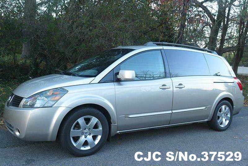 2004 Left Hand Nissan Quest Gold For Sale Stock No